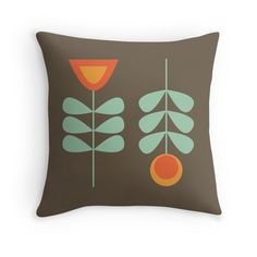 33 Best Mcm Garden Throw Pillow Collection Ideas Retro Throw Pillows Garden Throw Pillow Throw Pillow Collections