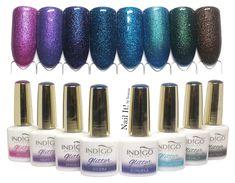 Glitter Gel Polish, Gel Nail Polish, Glitter Nails, Gel Nails, Acrylic Nails, Glam Rock, Acrylic Nail Designs, Nail Art Designs, Girl Night