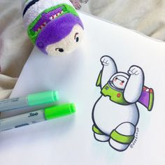 Another Baymax Lightyear