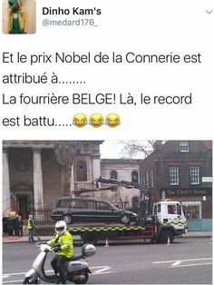 Et le prix Nobel de la connerie est attribué à Funny True Quotes, Funny Jokes, Hilarious, Some Jokes, Image Fun, Funny Cute, Funny Photos, Troll, Prix Nobel