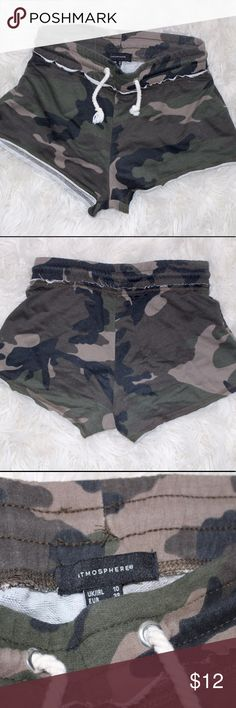 Cute & comfy camo shorts!!! $9 24H only!! SALE✌️ Camo shorts!! Atmosphere Shorts