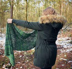 Ravelry: Fresh Leaves Shawl pattern by Christina Hadderingh Crochet Cardigan Pattern, Crochet Shawl, Ravelry Crochet, Irish Crochet, Crochet Kids Hats, Crochet Scarves, Crochet Summer Dresses, Yarn Sizes, Crochet Patterns For Beginners