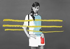 ernesto artillo collage fashion illustration - Buscar con Google