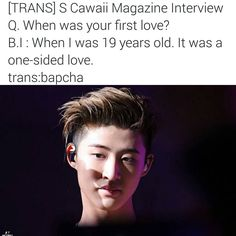"""«""""-"""" #Hanbin  cr to owners - Wow  That's means in 2014 !! When i started to really love him !! I thought I won't be sad when i read news like these  but…»"""