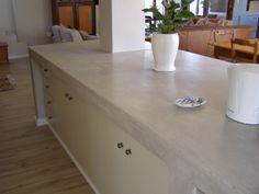 Cemcrete Kitchen Countertop