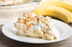 Best Ever Banana Pudding Pie on This Gal Cooks - again, I don't usually use recipes with prepackaged stuff, but there are organic options available these days!