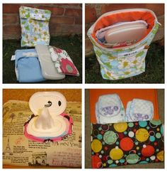 60 baby gift ideas Shown: All In One Diaper and Wipes Holder