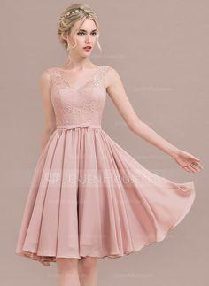 Hermoso Vestido En Color Palo De Rosa Vestidos Cortos En