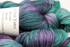 Mystic Beyond 80/10/10 MCN fingering weight sock by InvictusYarns, $25.00