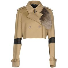 Maison Margiela Blazer (1 480 PLN) ❤ liked on Polyvore featuring outerwear, jackets, blazers, beige, white double breasted blazer, double breasted jacket, maison margiela jacket, white blazer jacket and beige jacket