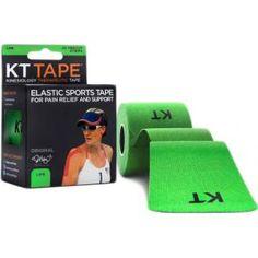 KT Tape Cotton Precut Lime