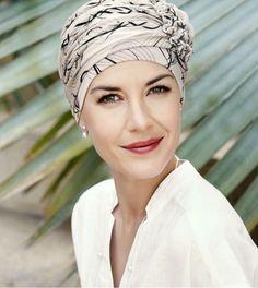 Turbante oncologico Christine Lotus Bambú