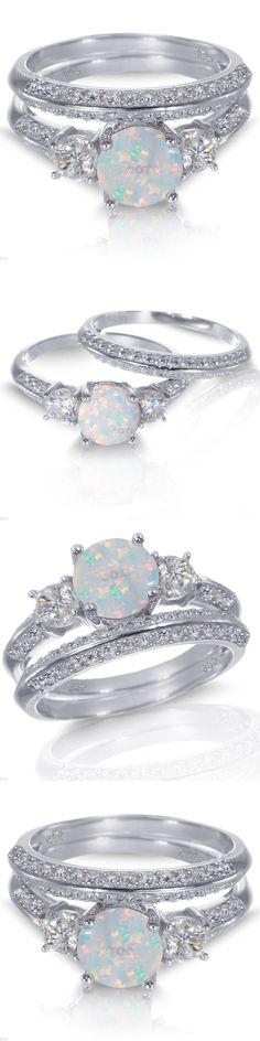 51 Best Opal Wedding Rings Images On Pinterest In 2018 Estate