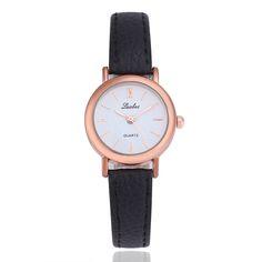 Luobos pequeno dial hot sale mulheres relógio moda relógios de quartzo de couro das senhoras estilo simples relógio de pulso relogio feminino 2017 em Relógios das mulheres de Relógios no AliExpress.com | Alibaba Group