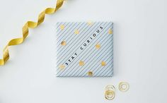 Be inspired with these wrapping ideas using the kikki.K DIY Sticker Book