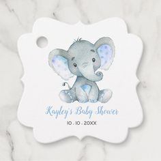 Baby Shower Niño, Baby Shower Party Favors, Baby Shower Parties, Baby Shower Gifts, Elephant Baby Boy, Elephant Baby Showers, Elephant Birthday, Baby Elephants, Elephant Gifts