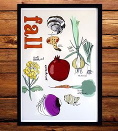 Fall Farmers Market Art Print by Renee Garner on Scoutmob Shoppe