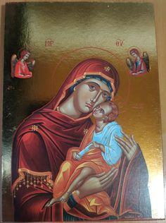 orthodox icons byzantine icons golden print Byzantine Icons, Orthodox Icons, Paper Dimensions, Handmade Items, Princess Zelda, Gift Ideas, Group, Amazing, Board