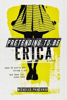 Moments of Gleeful Grace–Book Review: Pretending to Be Erica by Michelle Painchaud—ME LOVE HEISTS!!!