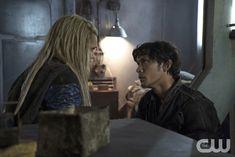 "#The100 3x05 ""Hakeldama"" - Clarke and Bellamy"