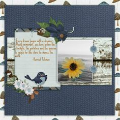 Created with Nature walk by Marie H. Designs and Sue Ellen Francis font.