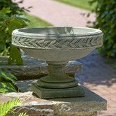 Found it at Wayfair - Longwood Laurel Banded Round Urn Planter