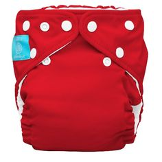 Charlie Banana 2-in-1 One Size Cloth Diaper - Red