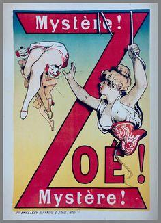 affiche poster cirque cabaret 12 27 vieilles affiches de cirques et cabarets  design