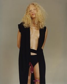 Frederikke Sofie by Harley Weir | Pop Magazine September 2014