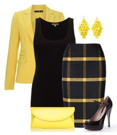 A fashion look from March 2014 featuring Jigsaw tops, Hallhuber blazers y Gucci pumps. Browse and shop related looks. Stylish Work Outfits, Classy Outfits, Stylish Outfits, Business Attire, Business Fashion, Work Fashion, Fashion Looks, Fashion Tips, Jw Mode