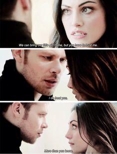 Klaus and Hayley. The Originals Season 2 Episode 12