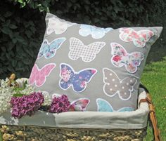 Mariposa Butterflies Cushion. 50% off! Was £12.99 now just £6.49! Mariposa Butterfly, Butterfly Cushion, Spring Sale, Butterflies, Cushions, Throw Pillows, Toss Pillows, Toss Pillows, Pillows