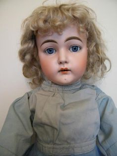 What a gorgeous, realistic antique bisque Kestner doll