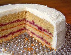 """Busy Day"" Cake! A low carb yellow cake w/creamy sugar-free frosting by HealthyIndulgencesBlog, via Flickr"