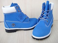 blue timberland boots - Google Search