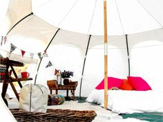 Lotus Belle Tents from Wild Hare Events