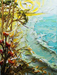 30x40 Seascape By: Justin Gaffrey