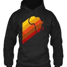 RETRO AFRICA 8 oz hoodie