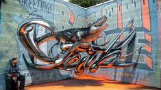 都会の味気ないコンクリートの壁に命を吹き込むストリートアートは世界各地でさかんに製作されている。  なかでも注目されているのが、目の錯覚を使って平面の壁を3D(3次元)に変える新世代のアーティストたちだ。    TSFクルー      フランスのアーティスト集団TSFクルーが得意とするのは、宙に浮かんだよう...