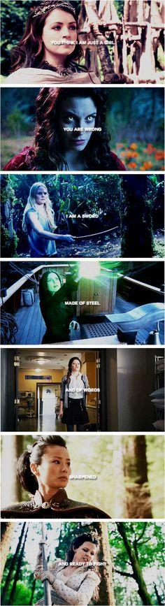 …i am not a girl, i am a weapon.