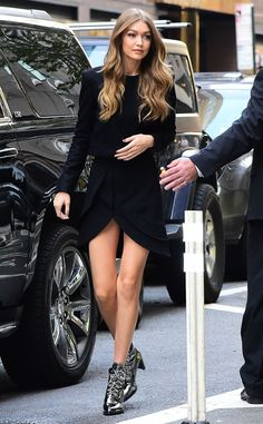 Gigi Hadid from The Big Picture: Today's Hot Pics  Hey gorgeous! The model looks stunning during a morning out in NYC.