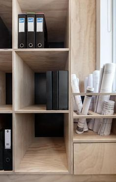 Mil Constructions office by Doherty Design Studio. Photographer: Lisbeth…