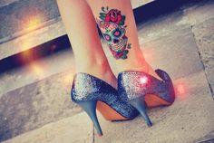 I would totally get a calavera tattoo