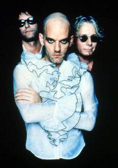 Michael Stipe and REM