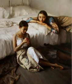 Realism Oil Painting Works by Zhao Kailin | China 1961