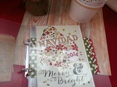 Diario de Navidad lowcost #scrapbooking #scraptip #decemberdaily #diariodenavidad December Daily, Blog, Merry, Christmas, Decor, Xmas, Diary Book, Yule, Decoration