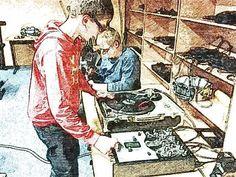 DJ School 38 by Pino Saluci #dj #vinyl #turntable #pinosaluci #djschool38 #djschulebraunschweig #djworkshop #djkurs #djlehrer #djwerden #braunschweig #turntabledj #turntables #djschule #djschool