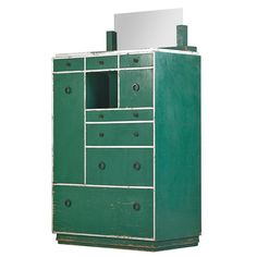 Lot: PAUL FRANKL; FRANKL GALLERIES Skyscraper cabinet, Lot Number: 0944, Starting Bid: $2,000, Auctioneer: Rago Arts and Auction Center, Auction: Modern Design, Date: October 19th, 2014 EEST