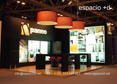 Diseño y construcción de stand – Panno – Veteco – Ifema Madrid www.espaciod.net info@espaciod.net (+34) 91 404 79 52
