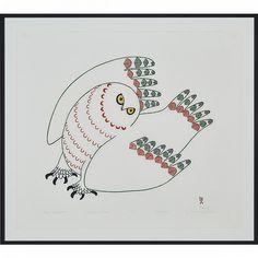 Ningeokuluk Teevee   NINGEOKULUK TEEVEE (1963-), UPPIK QUVIASUTTUQ, stonecut and